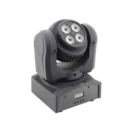 Moving Head LED cu 2 fete 4×10W / 10W RGBW