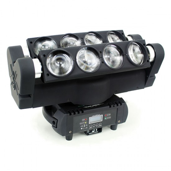 Moving Head LED Spider RGBW