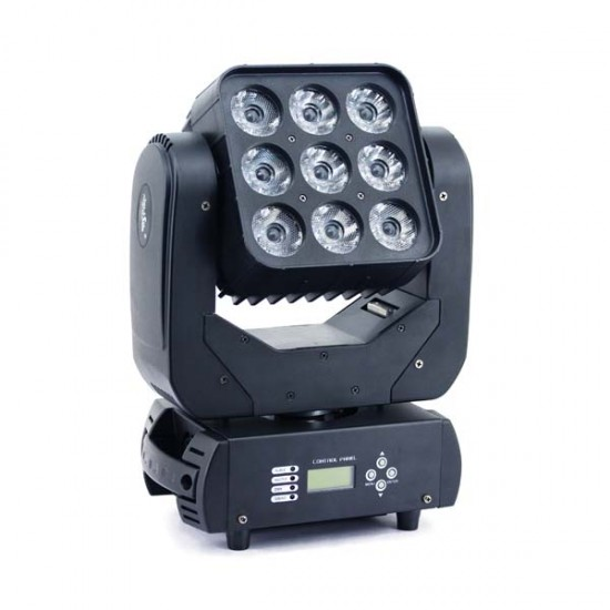 Moving Head LED Matrix 9×10W
